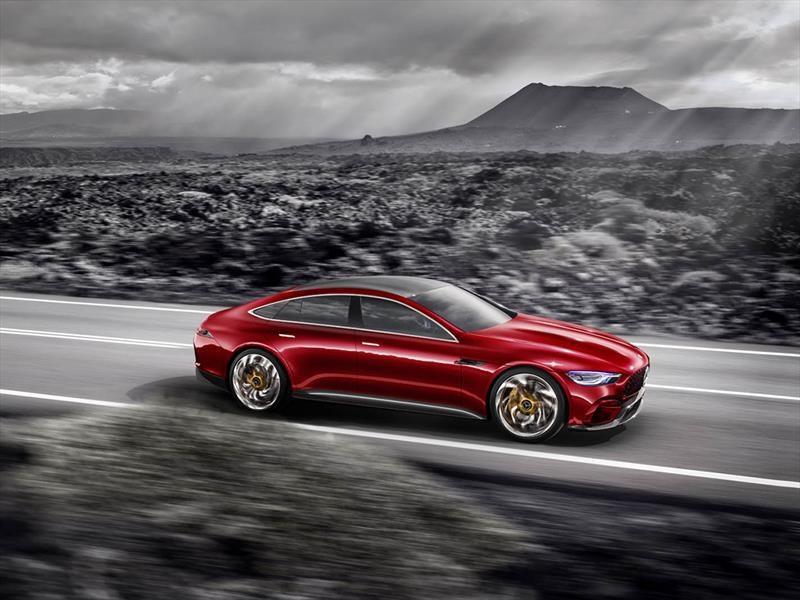 Mercedes AMG GT Sedán Concept, un supercar ejecutivo