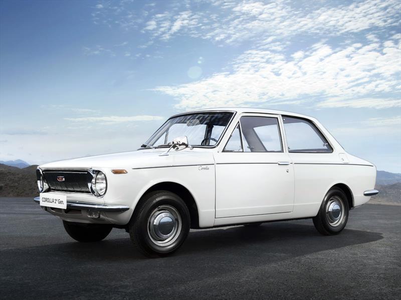 Un viaje a través de los 50 años del Corolla