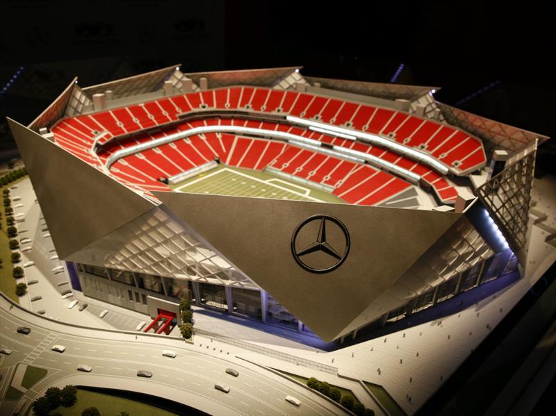 Mercedes Benz Stadium La Nueva Casa De Los Atlanta