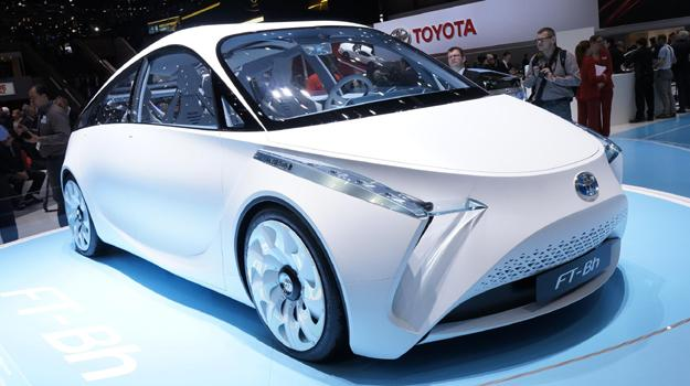 Toyota FT-Bh Concept en el Sal&#243;n de Ginebra 2012