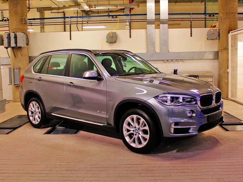 Nuevo BMW X5 2014 inicia venta en Chile