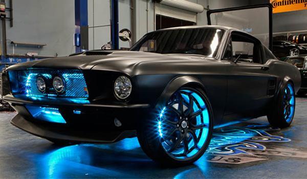 Ford Mustang clásico desarrollado por Microsoft