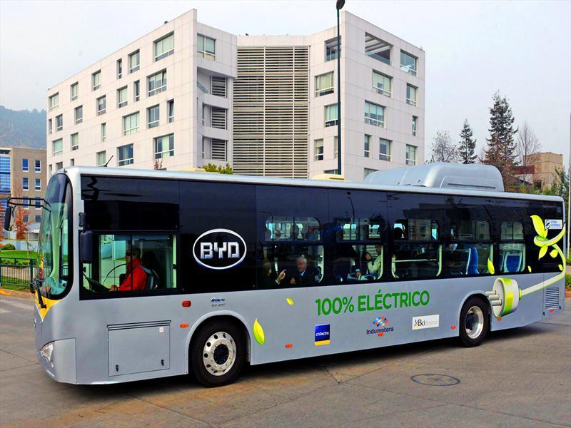 Bus eléctrico en Chile: Inauguran recorrido
