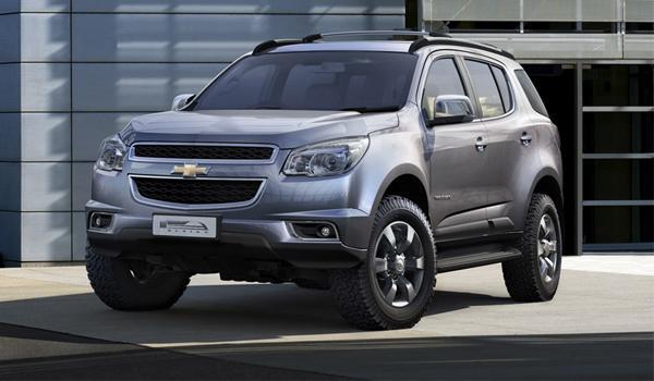 Chevrolet Trailblazer 2013 se presenta en Tailandia
