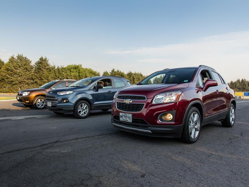 Comparativa: Chevrolet Trax vs Ford Ecosport vs Renault Duster