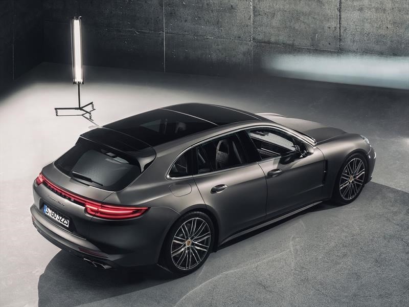 Porsche Panamera Sport Turismo 2018, increíble station wagon