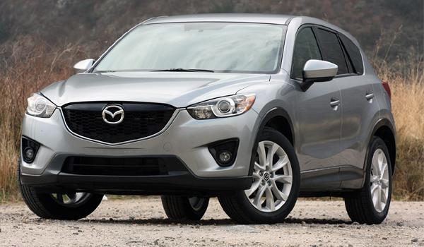 Mazda CX-5 2013 obtiene el reconocimiento Top Safety Pick  en EUA