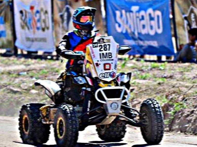 Christian Cajicá sufre accidente que lo saca del Dakar 2017