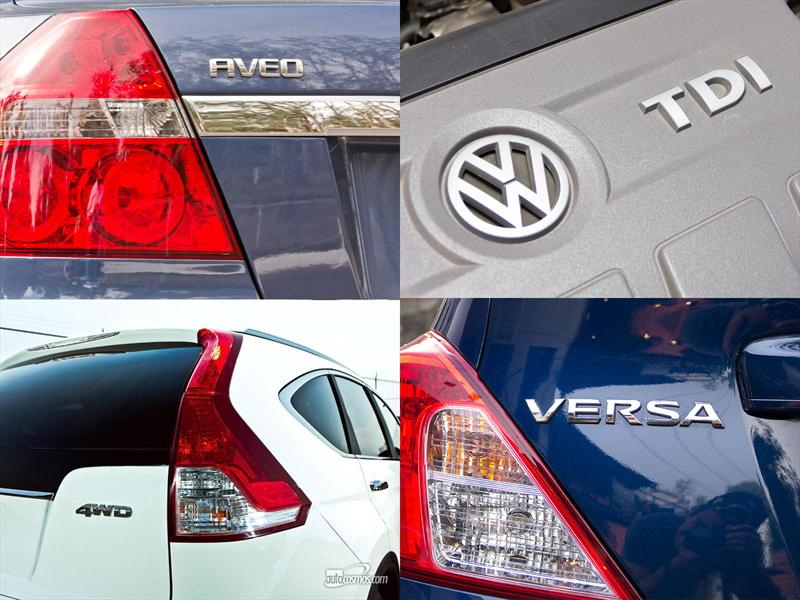 Los 10 autos más vendidos en México
