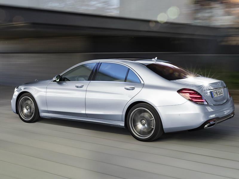 Mercedes-Benz Clase S 2018, diamante pulido
