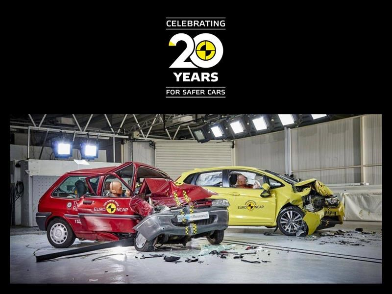 Euro NCAP cumple 20 años ¿Cuánto ha avanzado la seguridad?