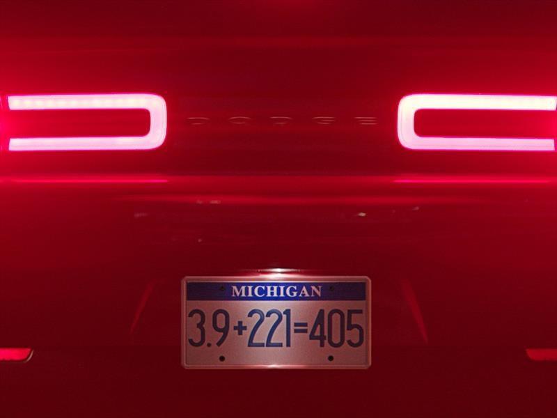 Video: Escuchá rugir al nuevo Dodge Challenger SRT Demon