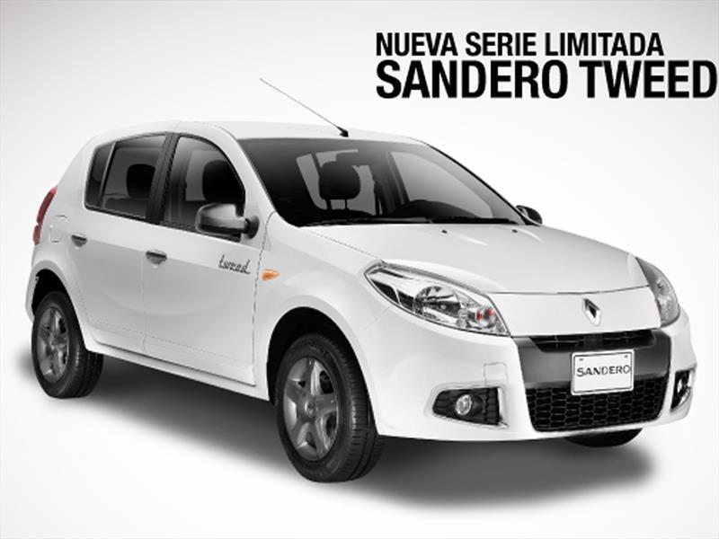 nueva Serie Limitada Renault Sandero Tweed a Colombia - Autocosmos.com