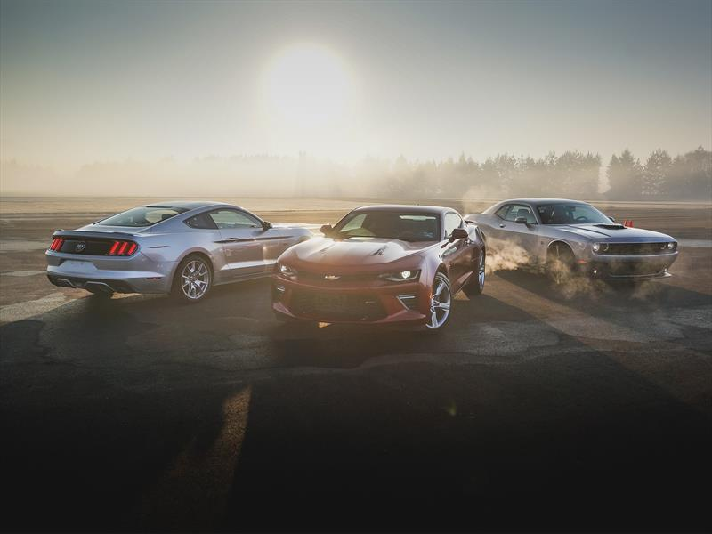 Comparativa: Ford Mustang vs Chevrolet Camaro vs Dodge Challenger