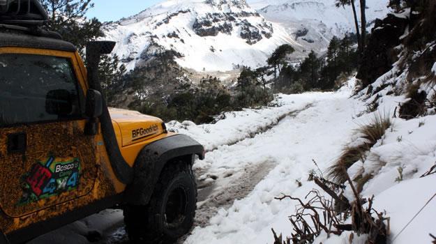 ¿Cómo conducir tu 4x4 sobre nieve?