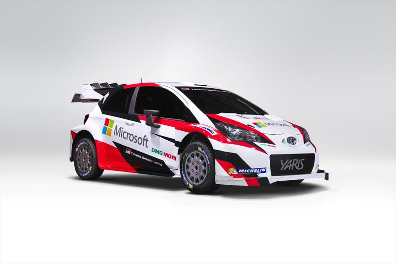 Toyota vuelve al WRC con el Yaris 2017