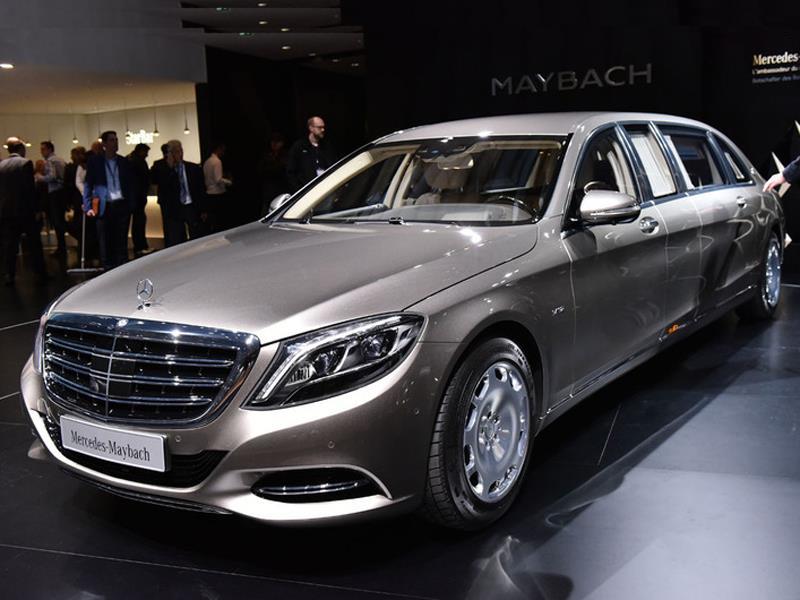 Mercedes-Maybach S600 Pullman 2016: Elegancia extrema