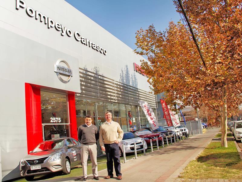 Nissan Pompeyo Carrasco Reinaugura Sucursal Bilbao