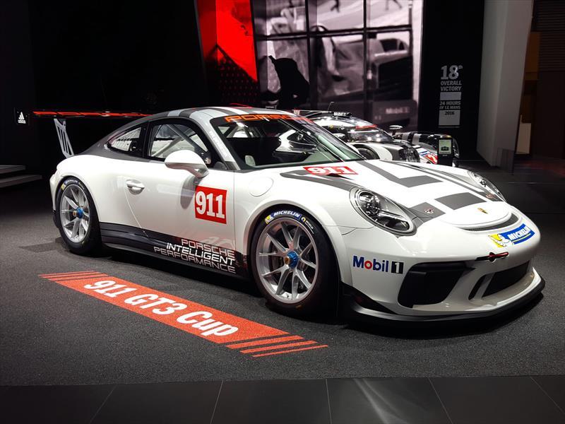 Porsche 911 GT3 Cup 2017, el auto de carreras más exitoso se renueva