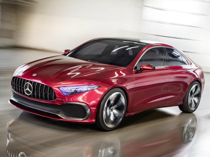 Mercedes-Benz Concept A Sedan, así serán los compactos de Stuttgart