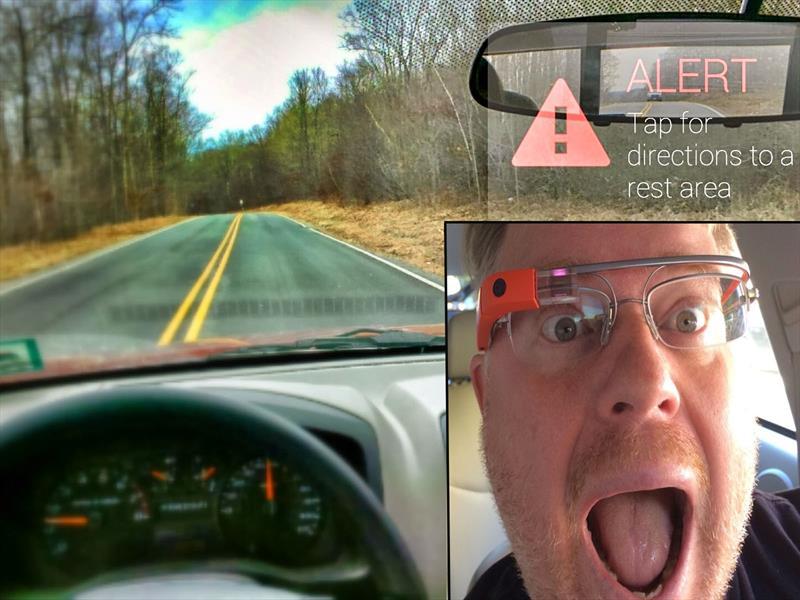 Google Glass ofrece app que detecta señales de cansancio en los conductores