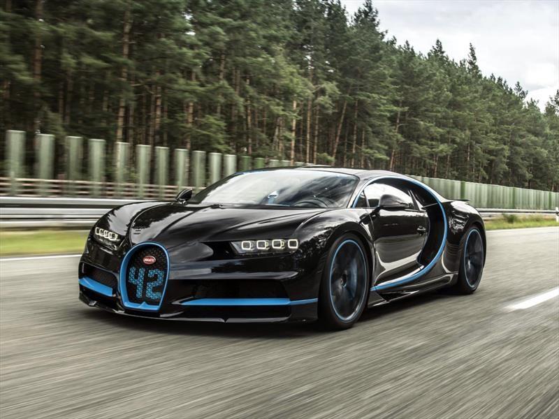 Bugatti Chiron bate el récord mundial de aceleración