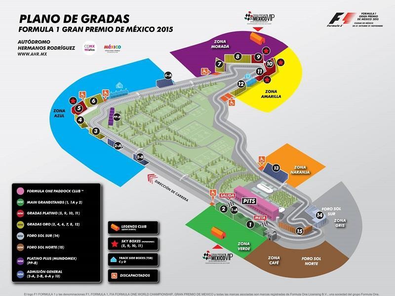 Nuevos boletos para el gran premio de m xico 2015 desde for Puerta 5 autodromo hermanos rodriguez