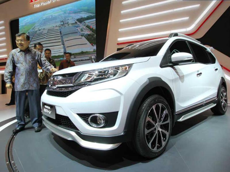 Honda BR-V, el nuevo SUV pequeño y de 3 filas de la marca ...