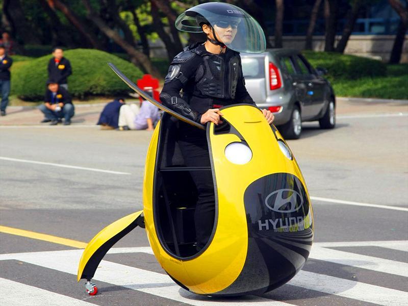 Hyundai E4U Concept: Movilidad urbana - Autocosmos.