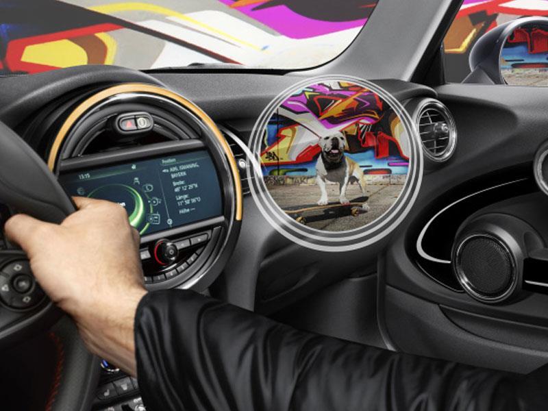 MINI presenta unos lentes de realidad aumentada