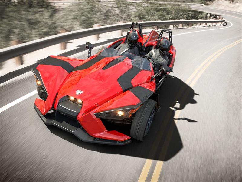 Polaris Sling Shot >> Polaris Slingshot, el nuevo vehículo de tres ruedas - Autocosmos.com