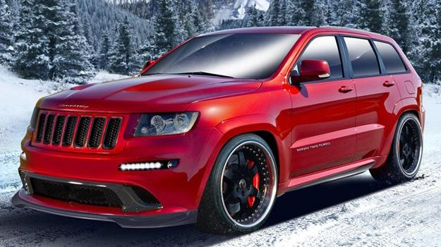 Hennessey Grand Cherokee HPE800 Twin Turbo