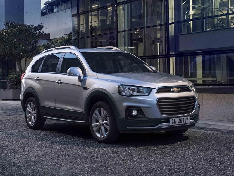 La Chevrolet Captiva se renueva en Argentina