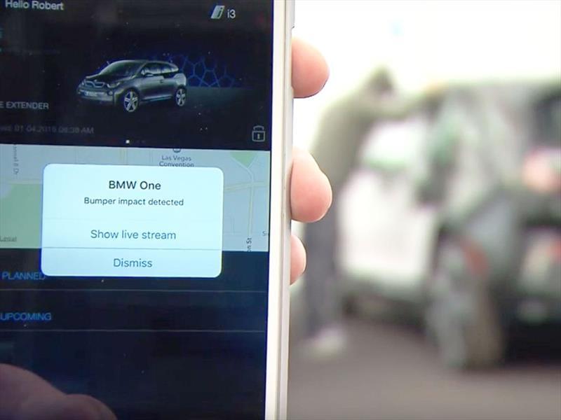 BMW Bumper Detect alerta sobre cualquier cosa que le hagan a tu carro