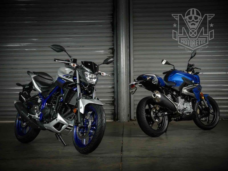 BMW G 310 R vs Yamaha MT-03: similares pero no iguales