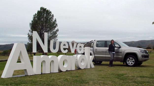 Manejamos la nueva Volkswagen Amarok Automática 2012 en Argentina