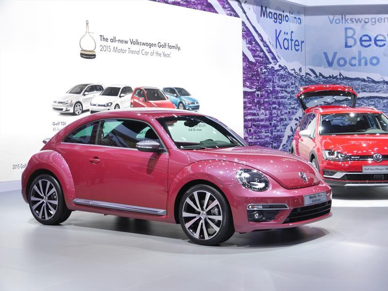 volkswagen beetle pink color edition el preferido de las. Black Bedroom Furniture Sets. Home Design Ideas