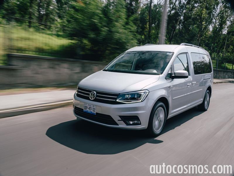 Volkswagen Caddy pasajeros 2016 a prueba