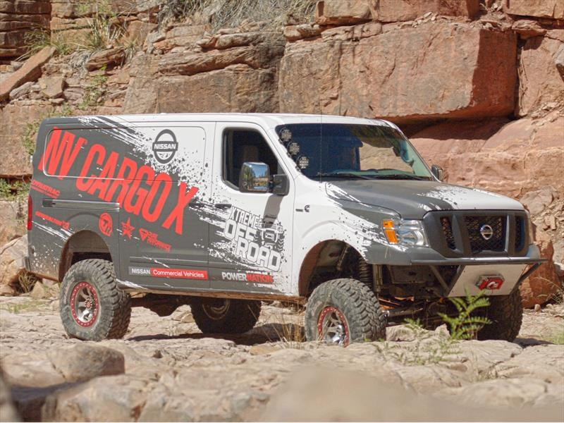 Nissan NV Cargo X, lista para realizar entregas