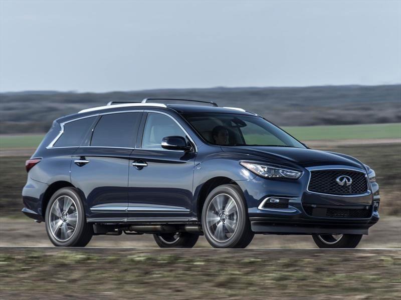 Infiniti QX60 2017: se actualiza el SUV de siete plazas