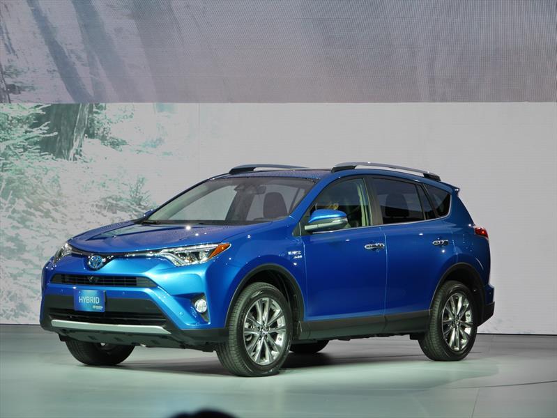 Toyota RAV4 Hybrid 2016 se presenta