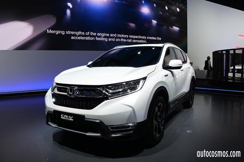 Honda CR-V Hybrid, a la conquista de Europa con motorización híbrida