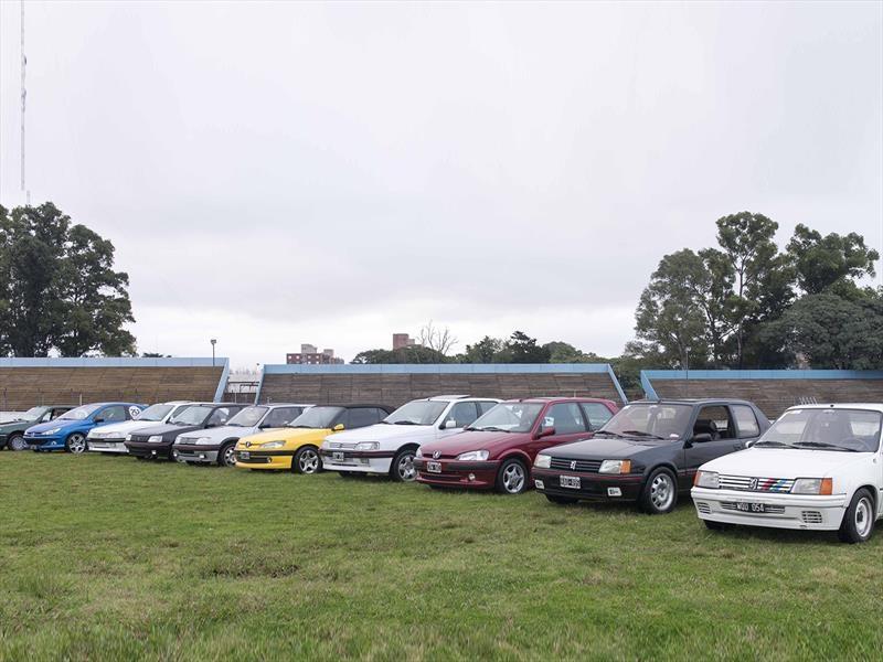 Peugeot festejó los 60 con sus clásicos