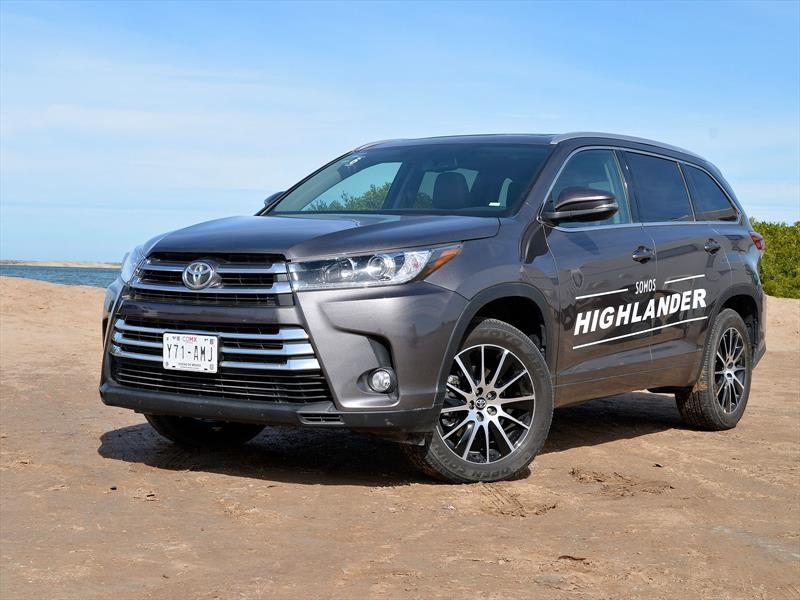 Toyota Highlander 2017 debuta