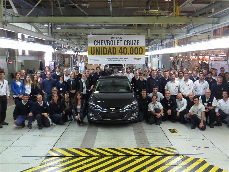 Ya se fabricaron 40.000 unidades del Chevrolet Cruze