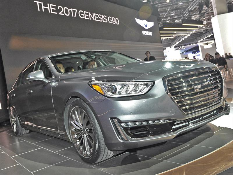 hyundai genesis g90 2017 se presenta. Black Bedroom Furniture Sets. Home Design Ideas