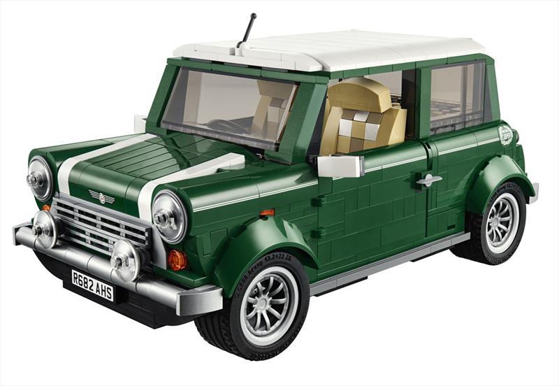 Lego nos presenta el MINI Cooper armable
