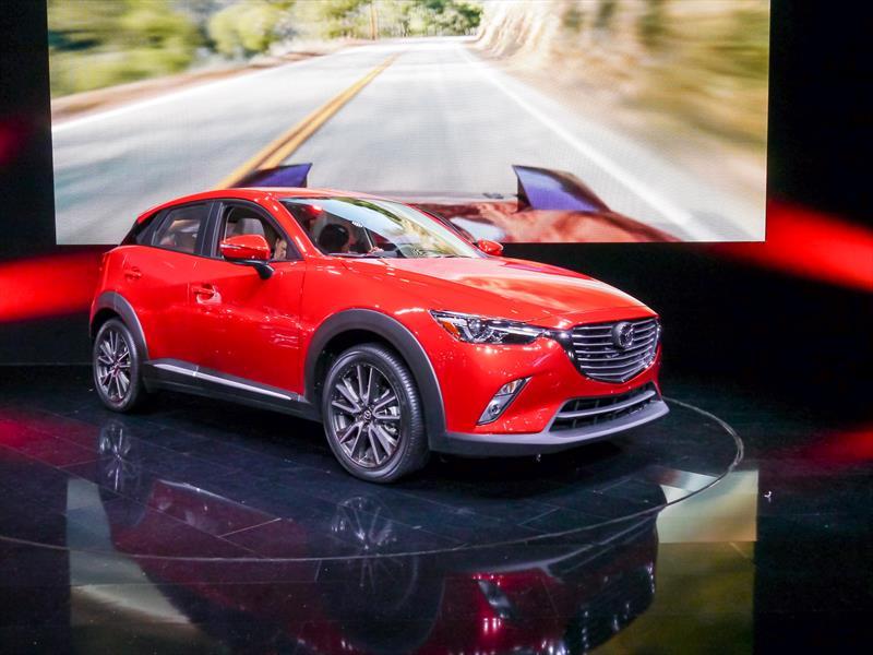 Mazda CX-3 2016, un nuevo crossover pequeño