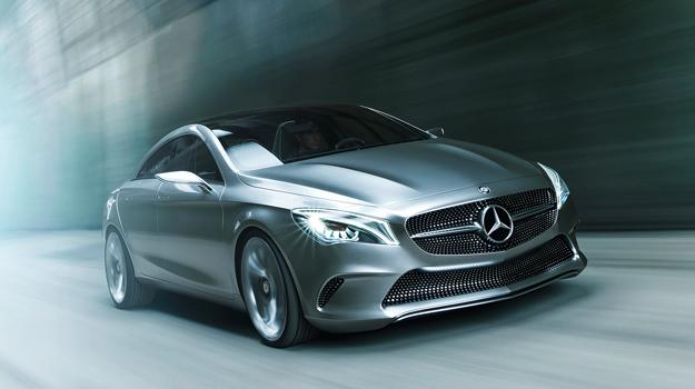 Mercedes-Benz Style Coup&#233; Concept debuta en Beijing 2012