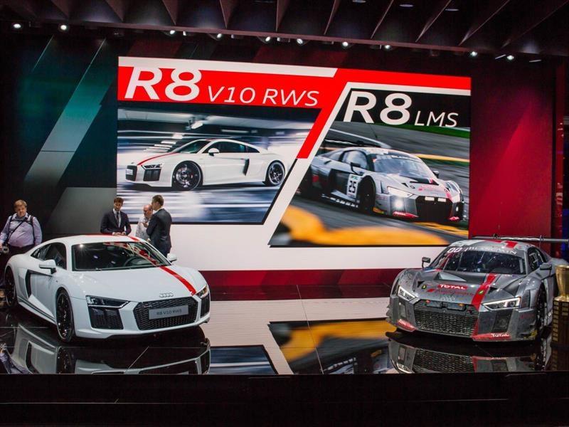 Audi R8 V10 RWS, con tracción trasera